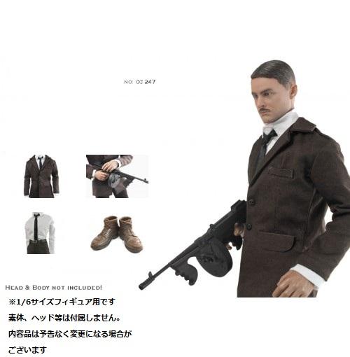 ドールズフィギュア cc247 1/6フィギュア用衣装 男性用 ブラウンジャケットセット (DOLLSFIGURE CC247)