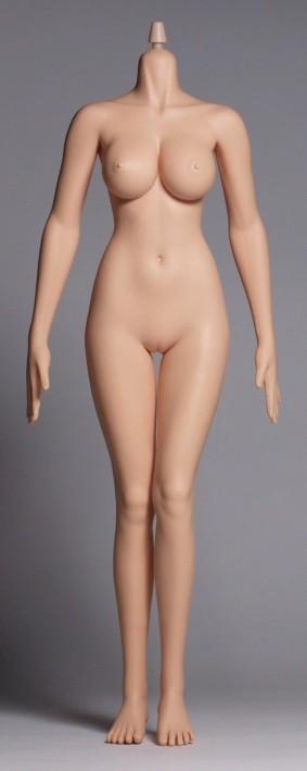 Edation Hotstuff  1/6シームレス女性素体 ラージバスト ホワイトカラー P04