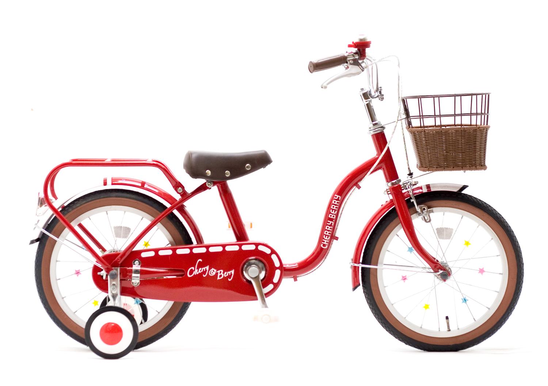 (アウトレット)価格SOGO 子供自転車 チェリアンドベリー C&B DX 16 子供用自転車 幼児用自転車 幼児車 キッズバイク 【カンタン組立】