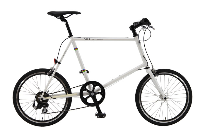 ロードバイク【ミニベロ 小径車】クロモリ MS400F-7 7S