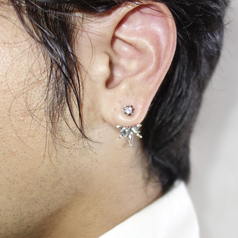 Artemis Clic Is For New Work Uriel Ear Jacket Pierced Earrings One