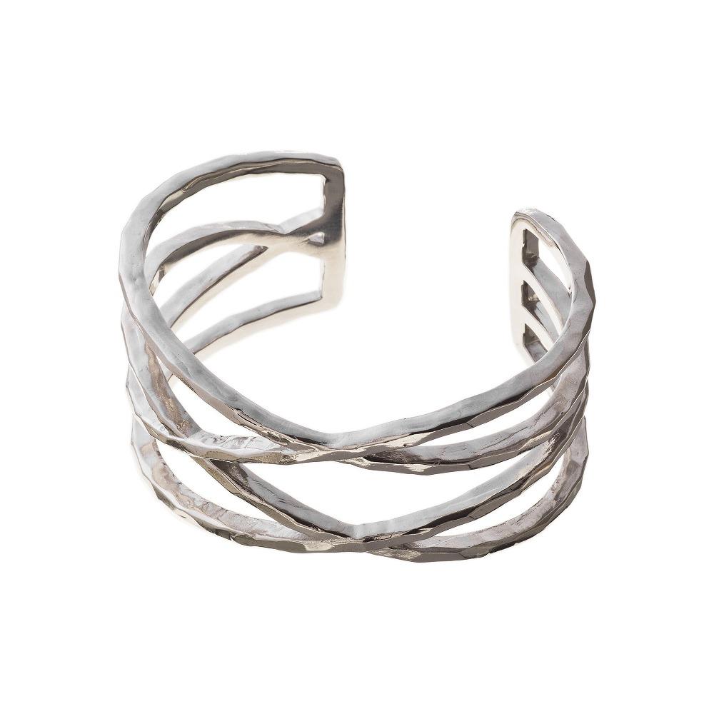特別価格 エレノアジュエリー Elenore Jewelry ワイドラップバングル ブレスレット SILVER925 ELB0002