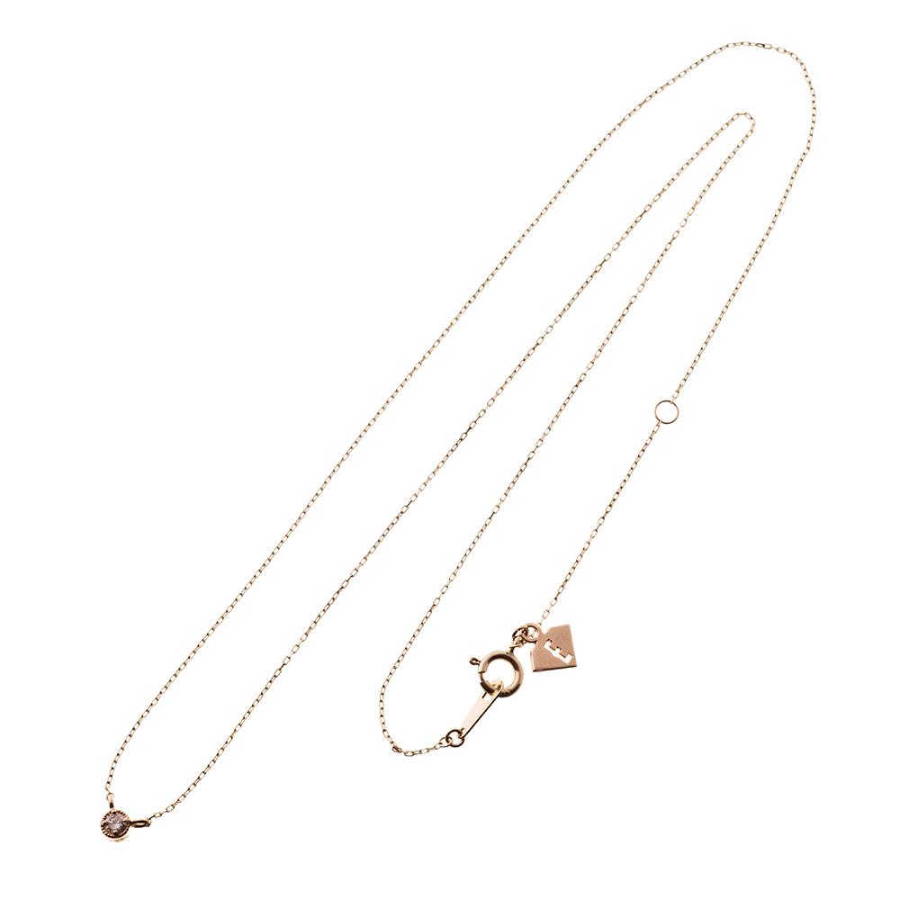 特別価格 エレノアジュエリー Elenore Jewelry 10金一粒トパーズネックレス ゴールドネックレス K10 10K ELP0003