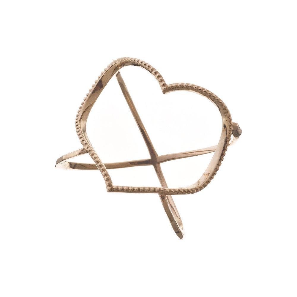 特別価格 エレノアジュエリー Elenore Jewelry 10金オープンハートリング 指輪 ゴールド K10 10K ELR0001