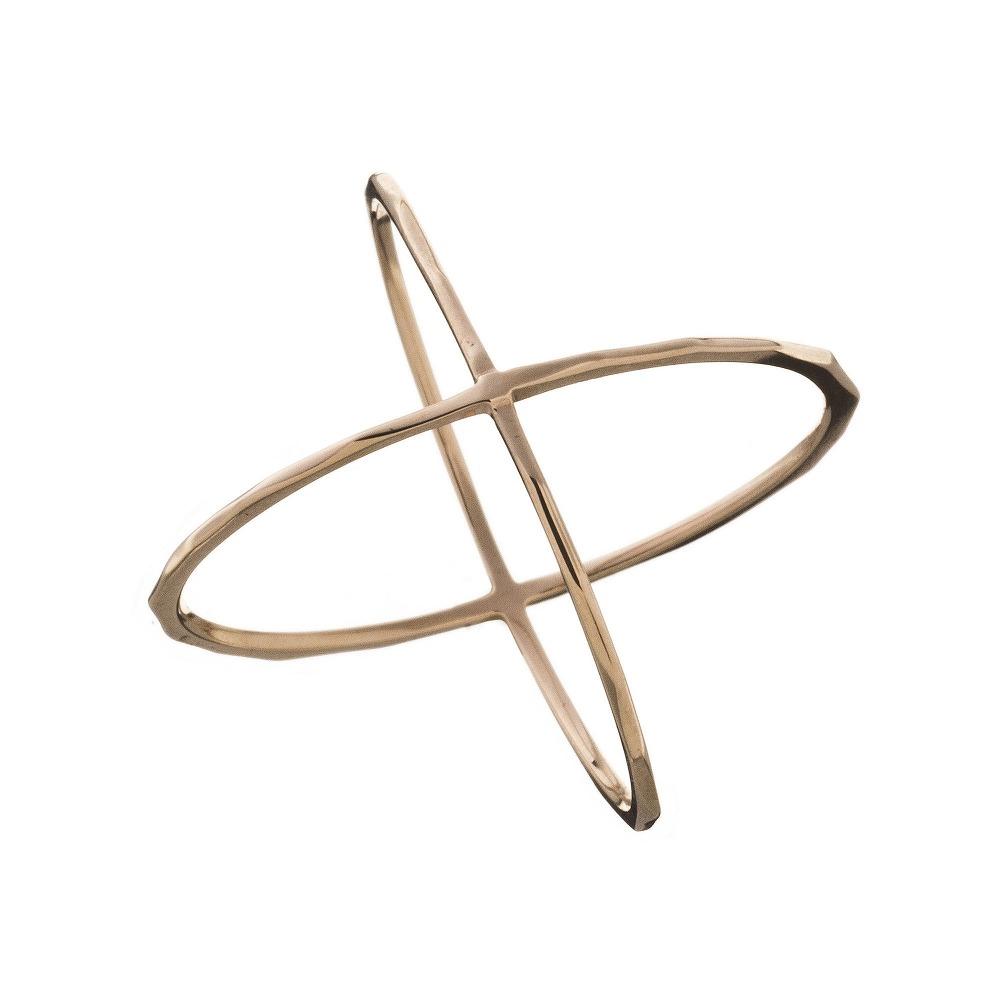 特別価格 エレノアジュエリー Elenore Jewelry 10金Xリング 指輪 ゴールド K10 10K ELR0004