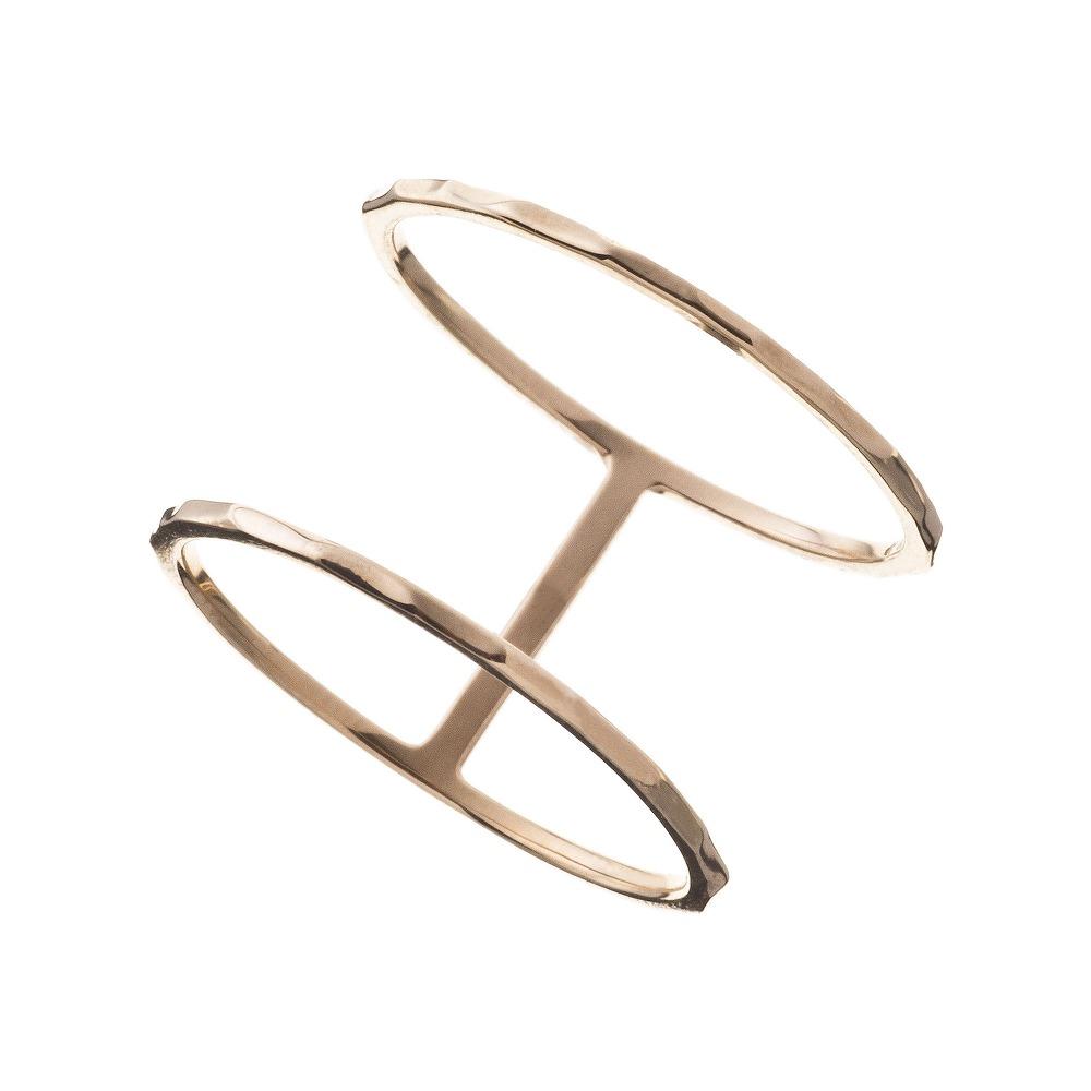 特別価格 エレノアジュエリー Elenore Jewelry 10金ダブルリング 指輪 ゴールド K10 10K ELR0005