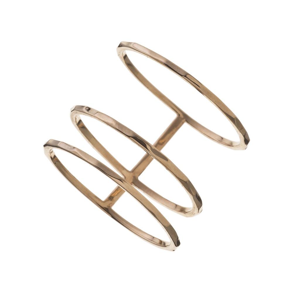 特別価格 エレノアジュエリー Elenore Jewelry 10金トリプルリング 指輪 ゴールド K10 10K ELR0006