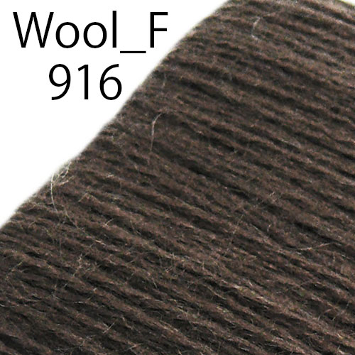 ウール刺繍糸(Wool_F_916 Wool 100% 50m巻)