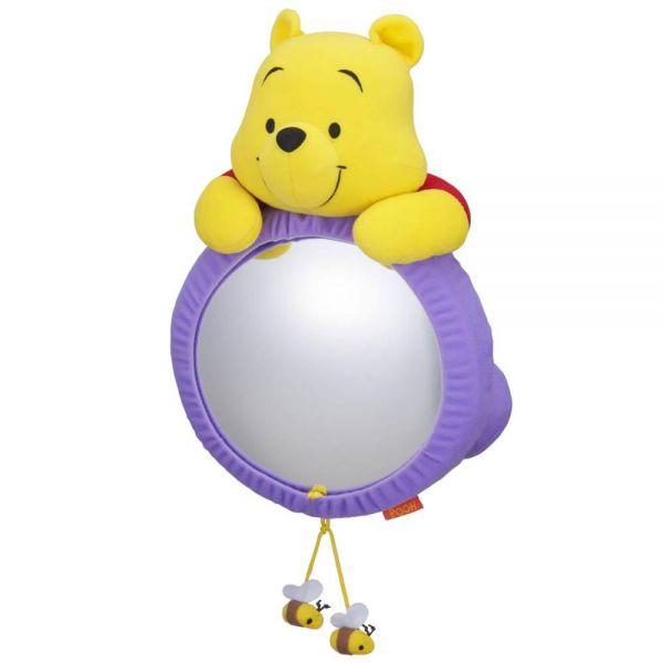 ディズニーキャラクター 雑貨 カー用品 お買い得品 ディズニー 大型モニターミラー お得セット 安全樹脂ミラー 赤ちゃんの様子確認 プーさん ナポ 見てみてミラー BD-303