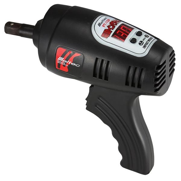 トルクを設定しスイッチを引くだけ オートストップなのでナットを締めすぎません 電動インパクトレンチ FT-10P 大自工業 メルテック