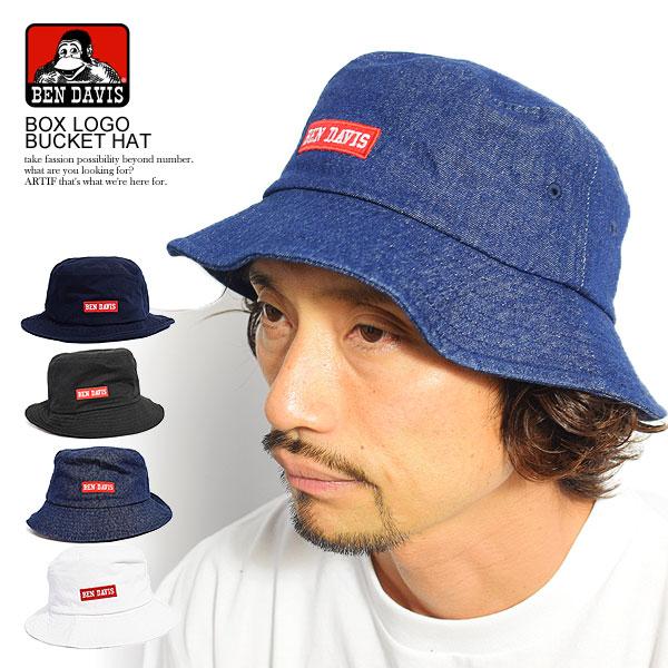 Casual fashion BENDAVIS Ben Davis that BEN DAVIS Ben Davis BOX LOGO BUCKET  HAT men hat pail hat hat box logo embroidery fashion is cool d29134caae1