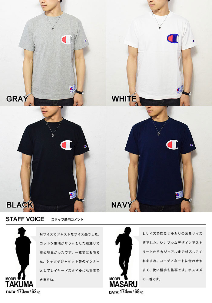 9a3aeea4d602 ... The casual fashion American casual street champion t shirt that CHAMPION  champion ACTION STYLE BIG- ...