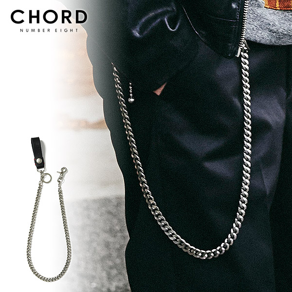 50%OFF SALE セール CHORD NUMBER EIGHT コードナンバーエイト WALLET CHAIN chordnumbereight メンズ ウォレットチェーン 送料無料