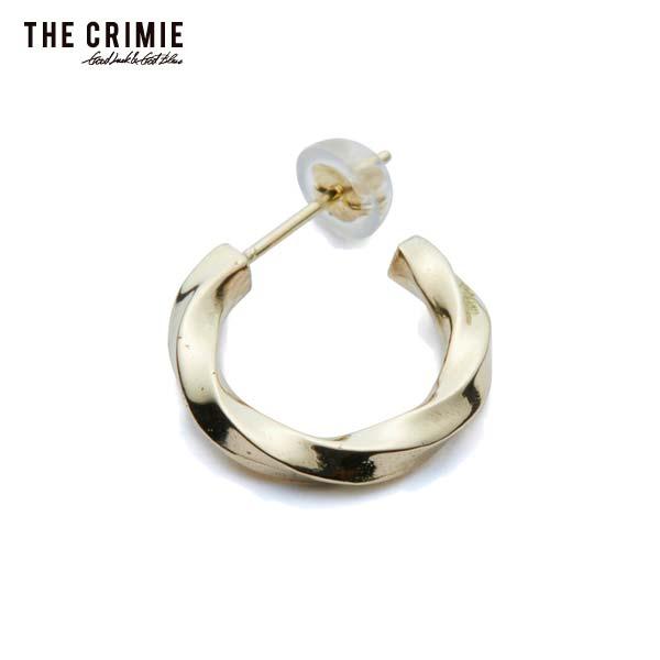 2019 秋冬 先行予約 10月~11入荷予定 CRIMIE クライミー ETERNITY 18K GOLD PIERCE メンズ ピアス 送料無料 キャンセル不可