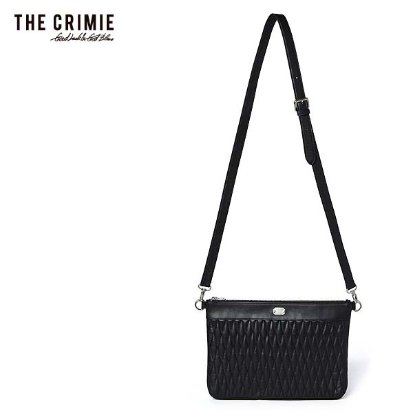 CRIMIE クライミー DIAMOND QUILT 2WAY CLUTCH BAG MIDDLE メンズ バッグ 送料無料 ストリート
