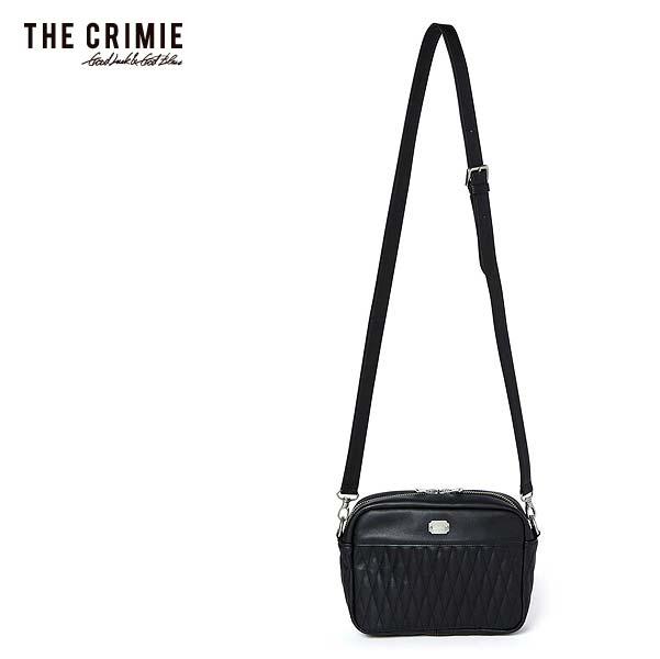 2019 秋冬 先行予約 10月~11月入荷予定 CRIMIE クライミー DIAMOND QUILT SHOULDER BAG メンズ バッグ 送料無料 キャンセル不可