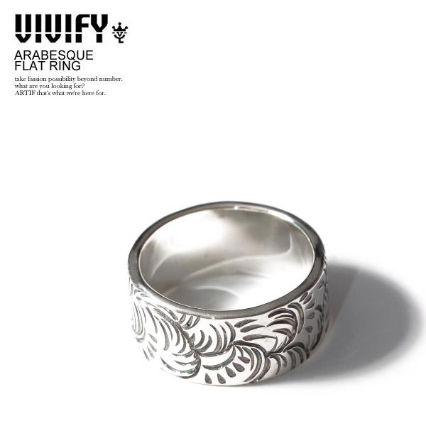 VIVIFY ビビファイ ARABESQUE FLATRING メンズ リング 指輪 アクセサリー シルバー ジュエリー ストリート 送料無料 おしゃれ かっこいい カジュアル ファッション vivify
