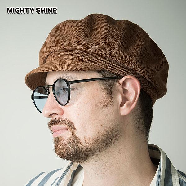 先行予約 2月~3月入荷予定 Mighty Shine 2022 春 マイティーシャイン キャンセル不可 送料無料 メンズ 未使用品 実物 Cotton キャスケット Casquette Marine