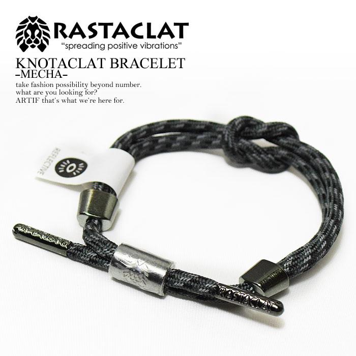 RASTACLAT 라스타크랏트 KNOTACRAT BRACELET -MECHA-멘즈레디스아크세사리브레스렛트슈레이스카리포르니아 반사재 반사경 서해안 세련된가 진한 있어 스트리트