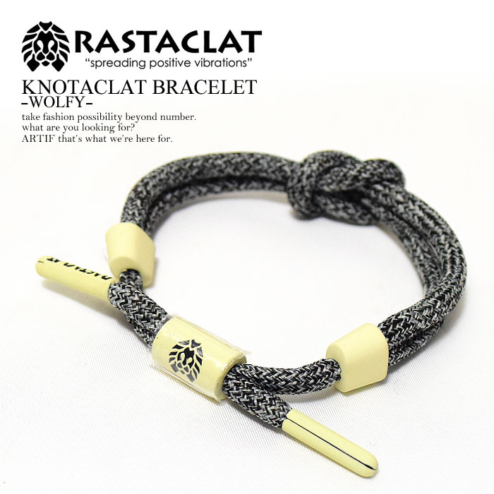 The Street Where Rastaclat ラスタクラット Knotacrat Bracelet Wolfy Men S Lady Accessories Shoo Race California West Coast Fashion Is Cool