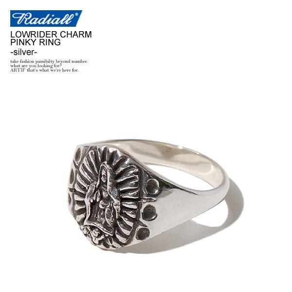 RADIALL ラディアル LOWRIDER CHARM PINKY RING radiall メンズ リング 指輪 ピンキーリング アクセサリー ジュエリー チャーム マリア グアダルーペ シルバー 送料無料 ストリート