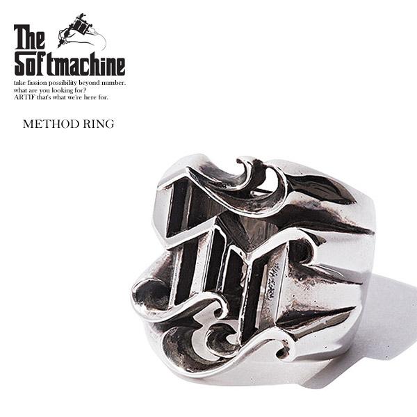 2020 夏 先行予約 6月~7月入荷予定 SOFTMACHINE ソフトマシーン METHOD RING メンズ リング 送料無料 キャンセル不可