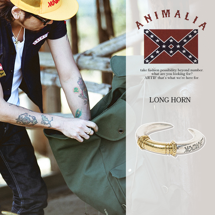ANIMALIA アニマリア LONG HORN animalia メンズ アクセサリー リング 指輪 送料無料 ストリート