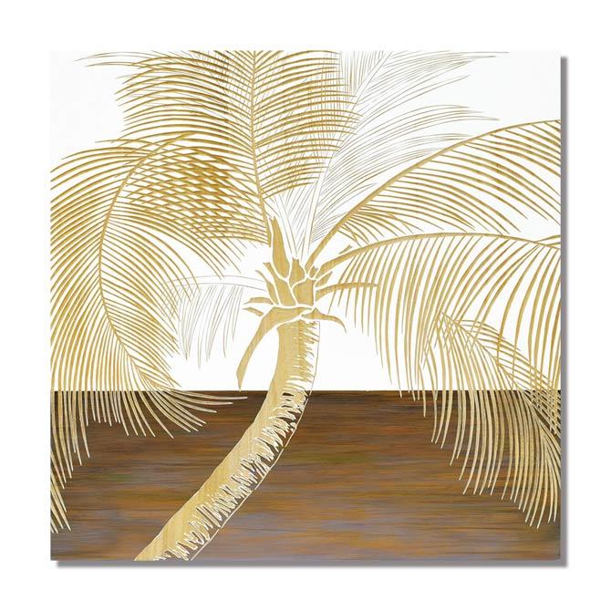 様々なアーティストの歴史に証明された名画シリーズ ウッド スカルプチャー アート パーム ツリー WH+NP アート額 [ギフト/プレゼント/ご褒美] インテリア雑貨 アートフレーム 額 激安超特価 額絵 アンティーク風 壁掛