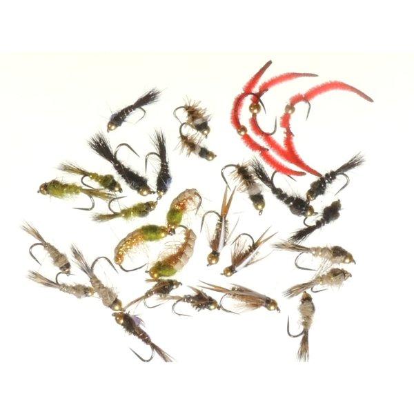 新品未使用正規品 バーブレス バーブド エリア 管理釣り場 ニンフ 30本セット ビーズ 管理 トラウト フライ フィッシング 完成フライ ルアー 年末年始大決算 釣具 フライフィッシング