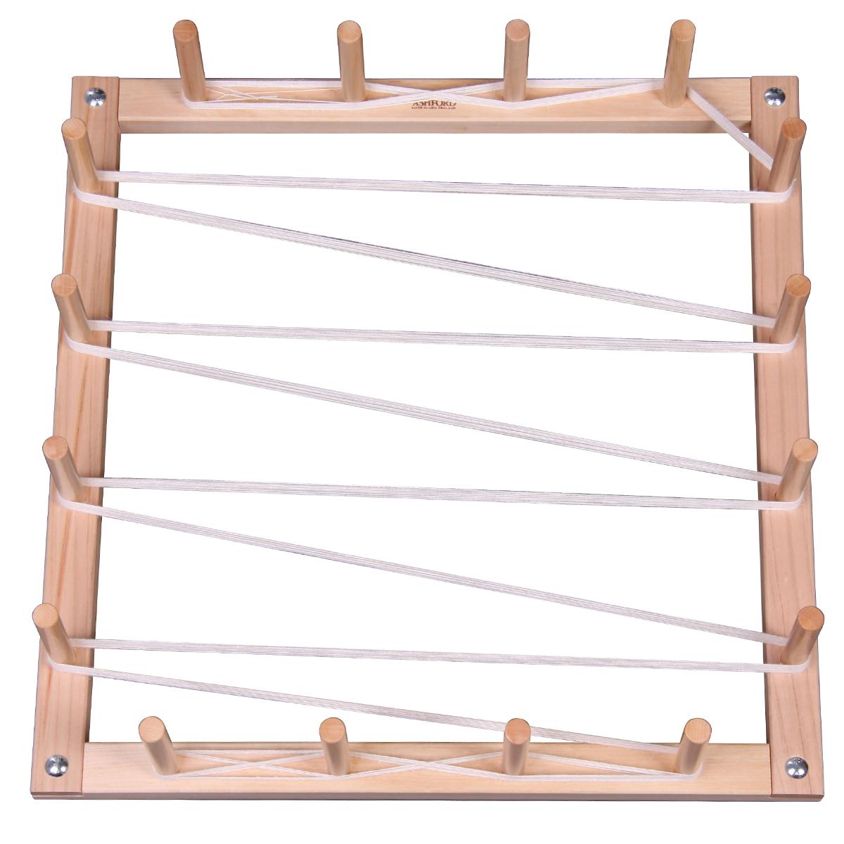 タテ糸4.5Mの準備に 大注目 ついに入荷 お取り寄せ品※代引きキャンセル不可 4.5m 整経枠