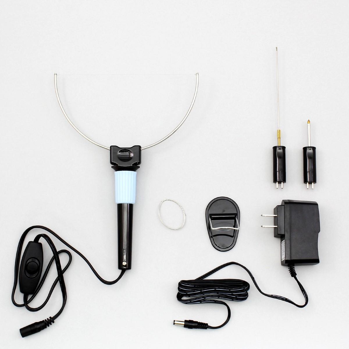 で穴あけや彫刻もできる発泡スチロールカッター 発泡スチロールカッター RHC-5V 【 工作 スチロール カッター 】