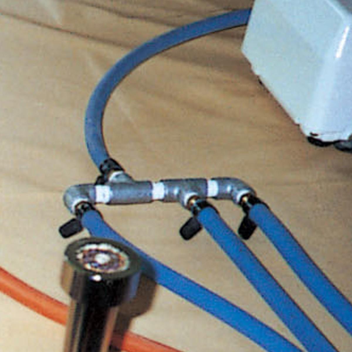 3つのバーナーを使いたい時に 三つ叉 配管 エアポンプP-6B型用 送料無料 一部地域を除く 作り 工芸 バーナーワーク 商品 トンボ玉