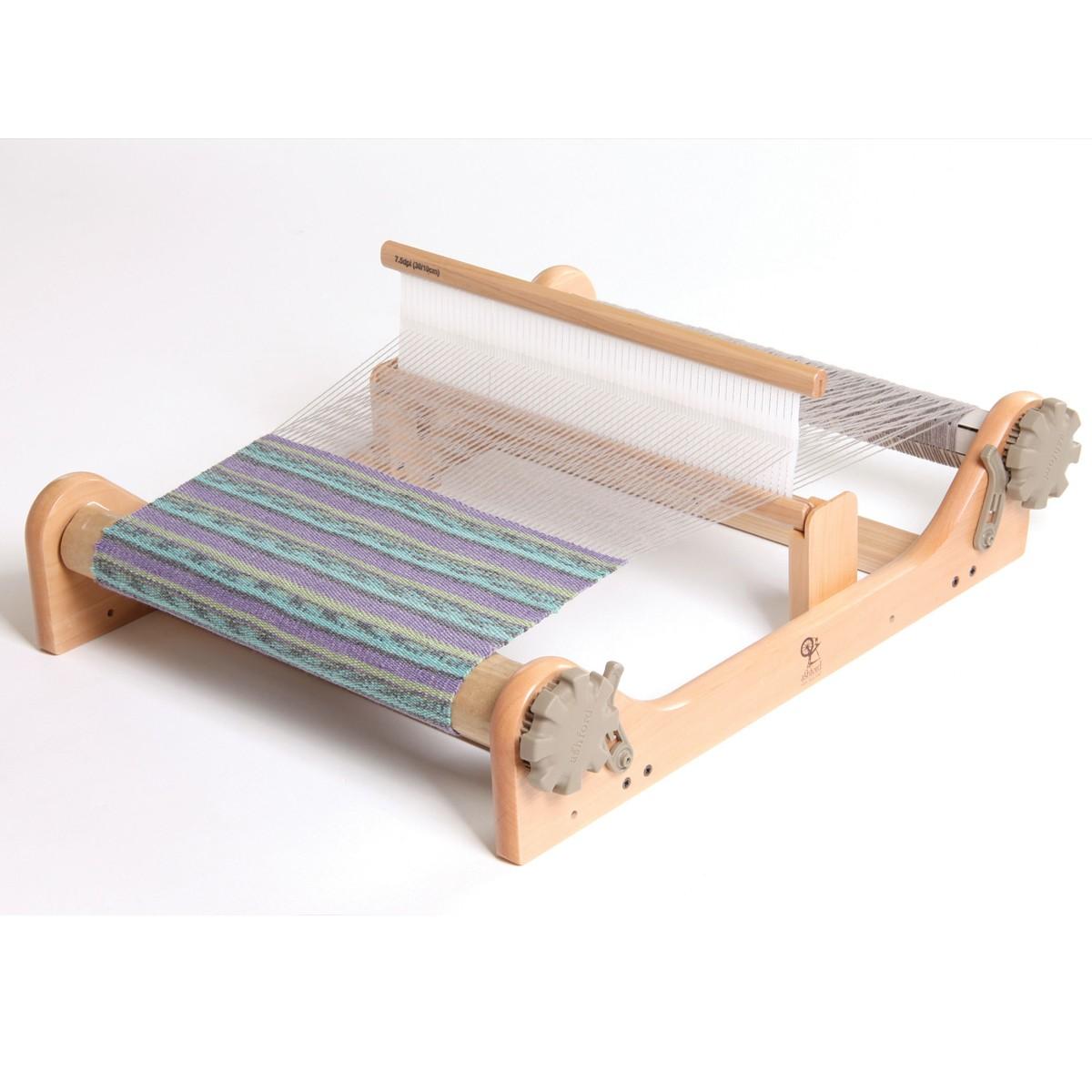 手織り機 リジッドヘドル 組立式 織幅40cm 【 機織り 手織り 織物 織り機 】