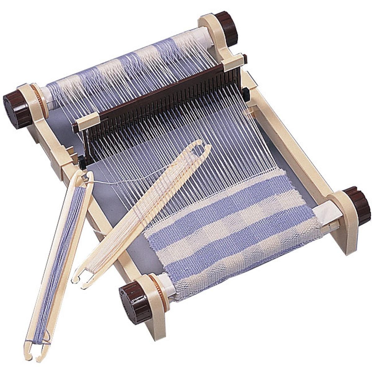 工夫次第で広がるデザイン 5☆好評 卓上手織り機 買取 組立式 敬老の日 ギフト 手織り 織り機 プレゼント 織物 機織り