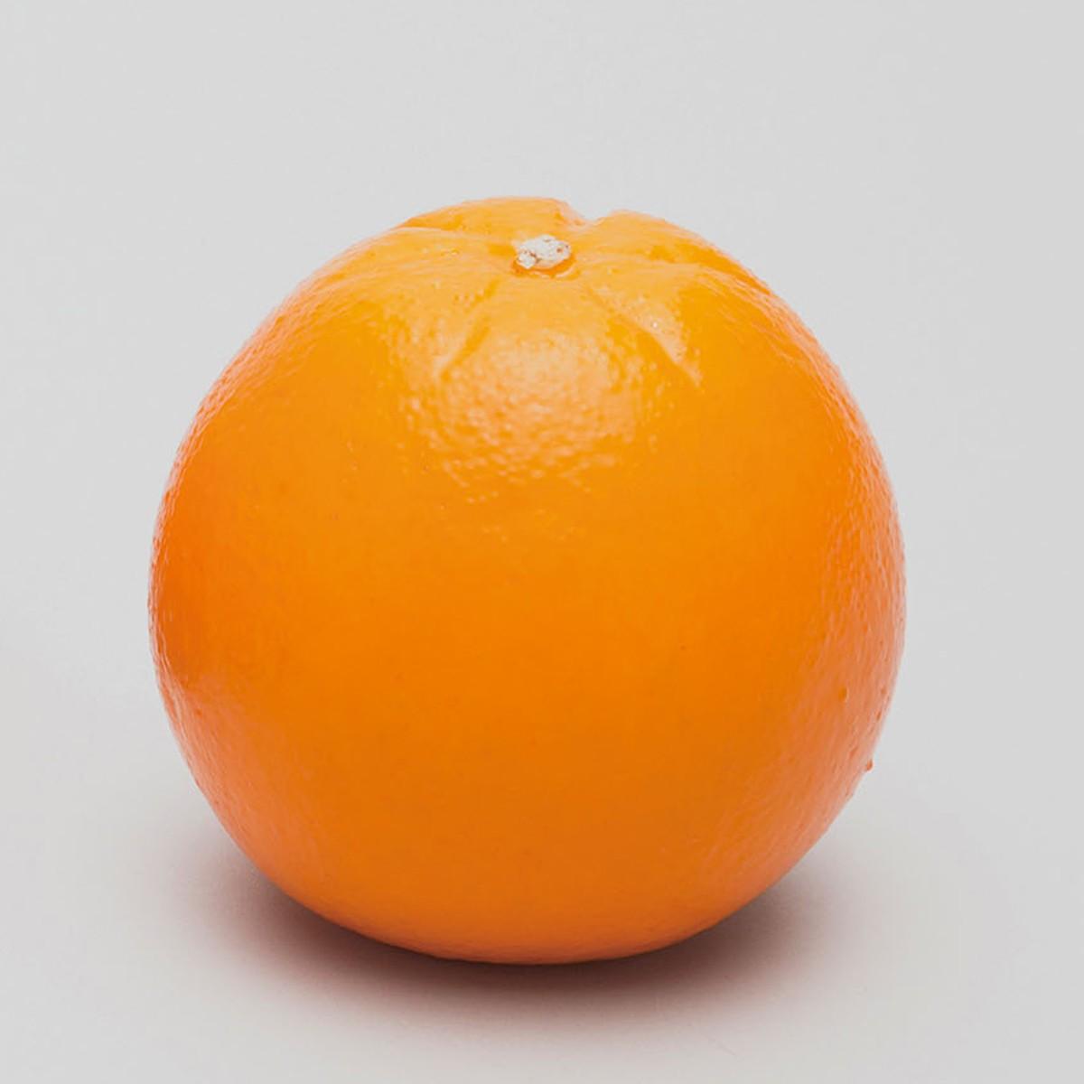 果物モデル オレンジ 12個セット 硬質スチロール製 【 デッサン スケッチ 絵画 モデル 果物 野菜 】