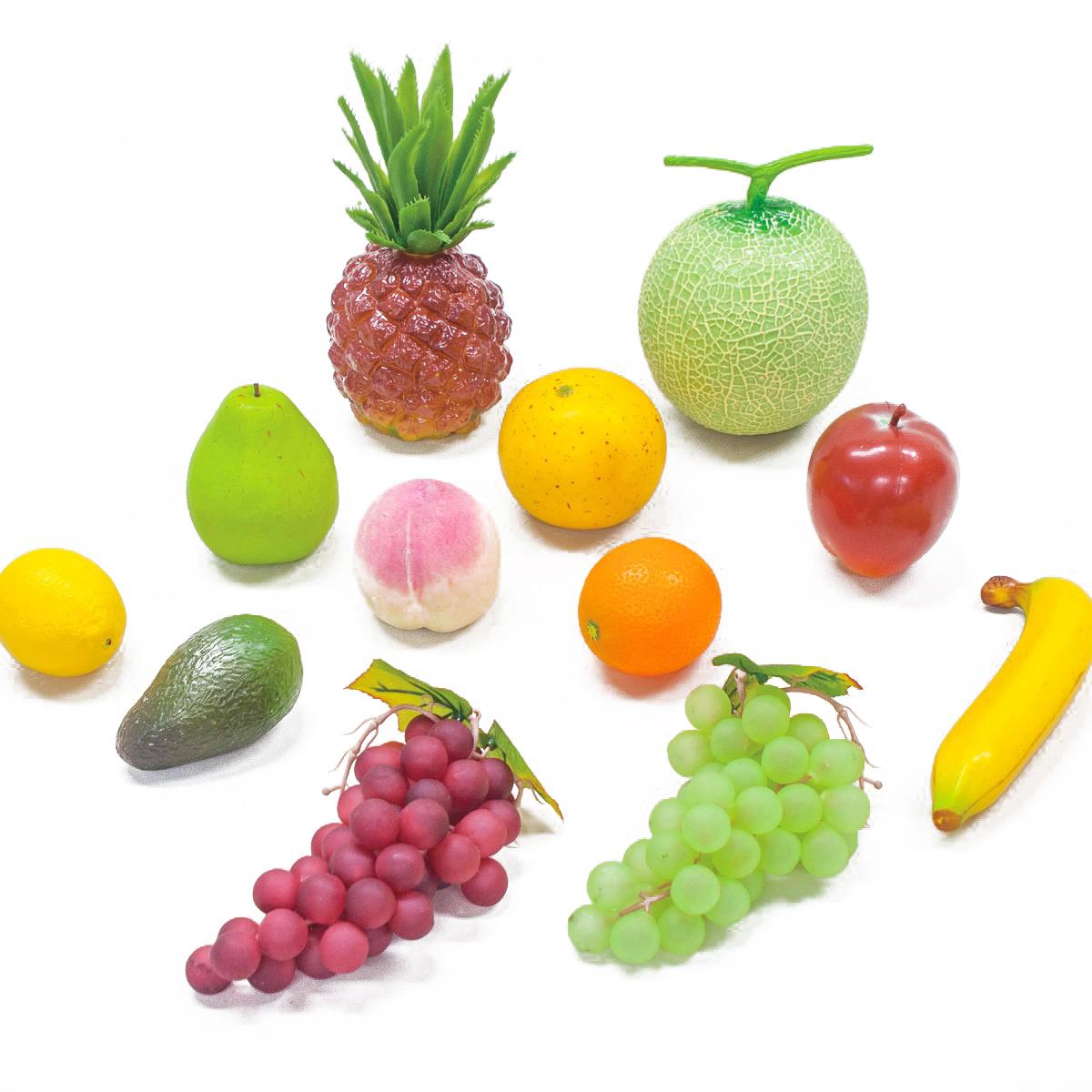 果物モデル 12種セット 【 デッサン スケッチ 絵画 モデル 果物 野菜 】