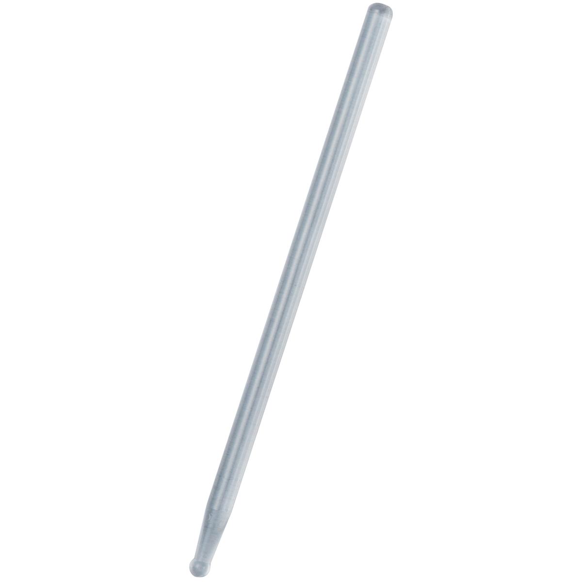 ガラス製溝引棒です メール便可 溝引棒 片玉 ガラス製 中空 デザイン 18%OFF 製図 定規 激安 溝 長さ170mm