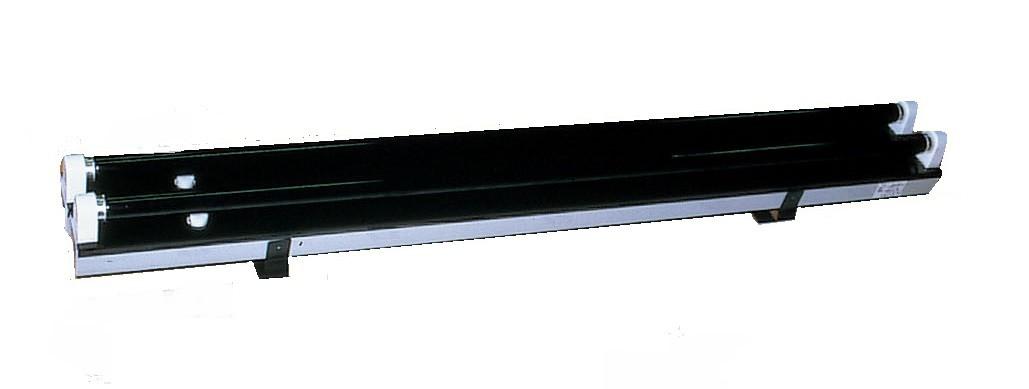 ブラックライト NW型 40W×2本 50/60Hz 兼用 【 ブラックライト ライト スタンド ライト管 畜光 蛍光 】