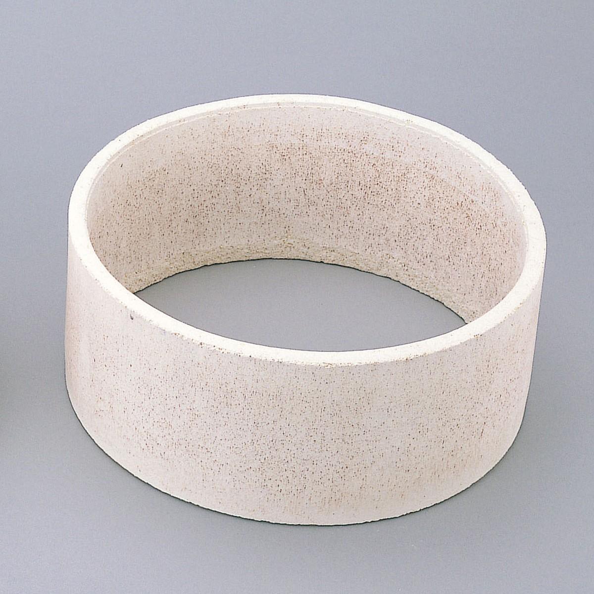 サヤ鉢 丸 2個組 底なし 350mmφ 【 陶芸 陶芸窯 さや 】