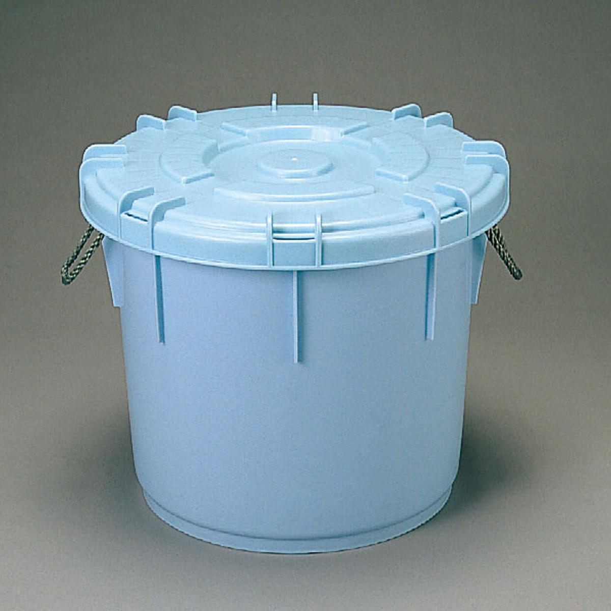 粘土貯蔵容器 ねじふた式 丸型 75L 【 陶芸 粘土 保管 保存 】