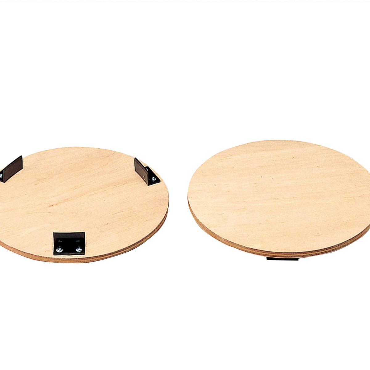 かめ板 300mmφターンテーブル用 360mmφ 10枚組 【 陶芸 ろくろ かめ板 】