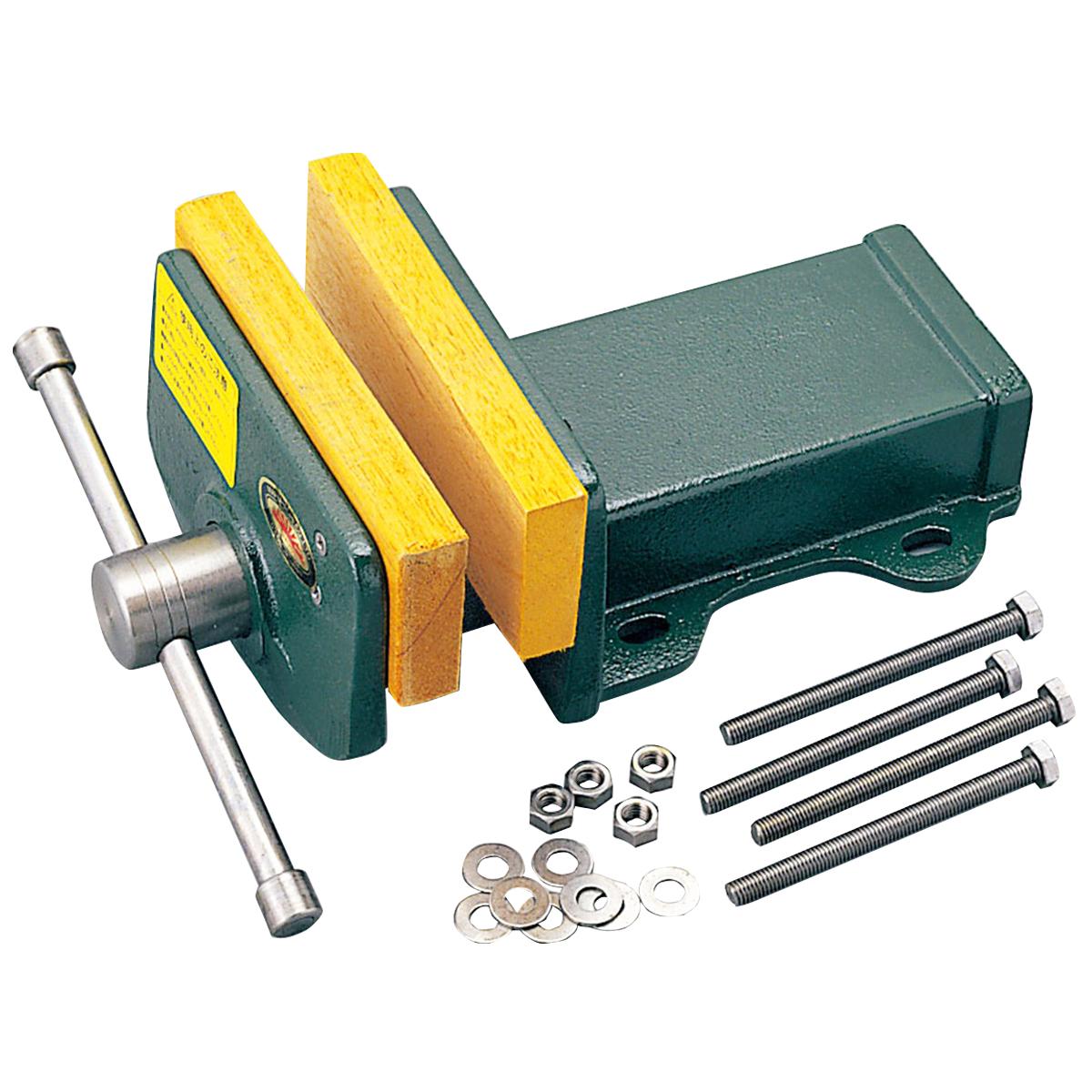 木工万力 WV-150型 台上式 【 木工 木彫 木工具 固定 木工バイス 万力 台上 】