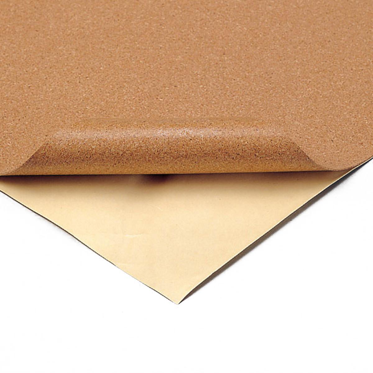 手軽に切り貼りできる素材です 粘着コルクシート 在庫一掃 低価格化 細目 1mm厚 木材 コルク 手作り DIY