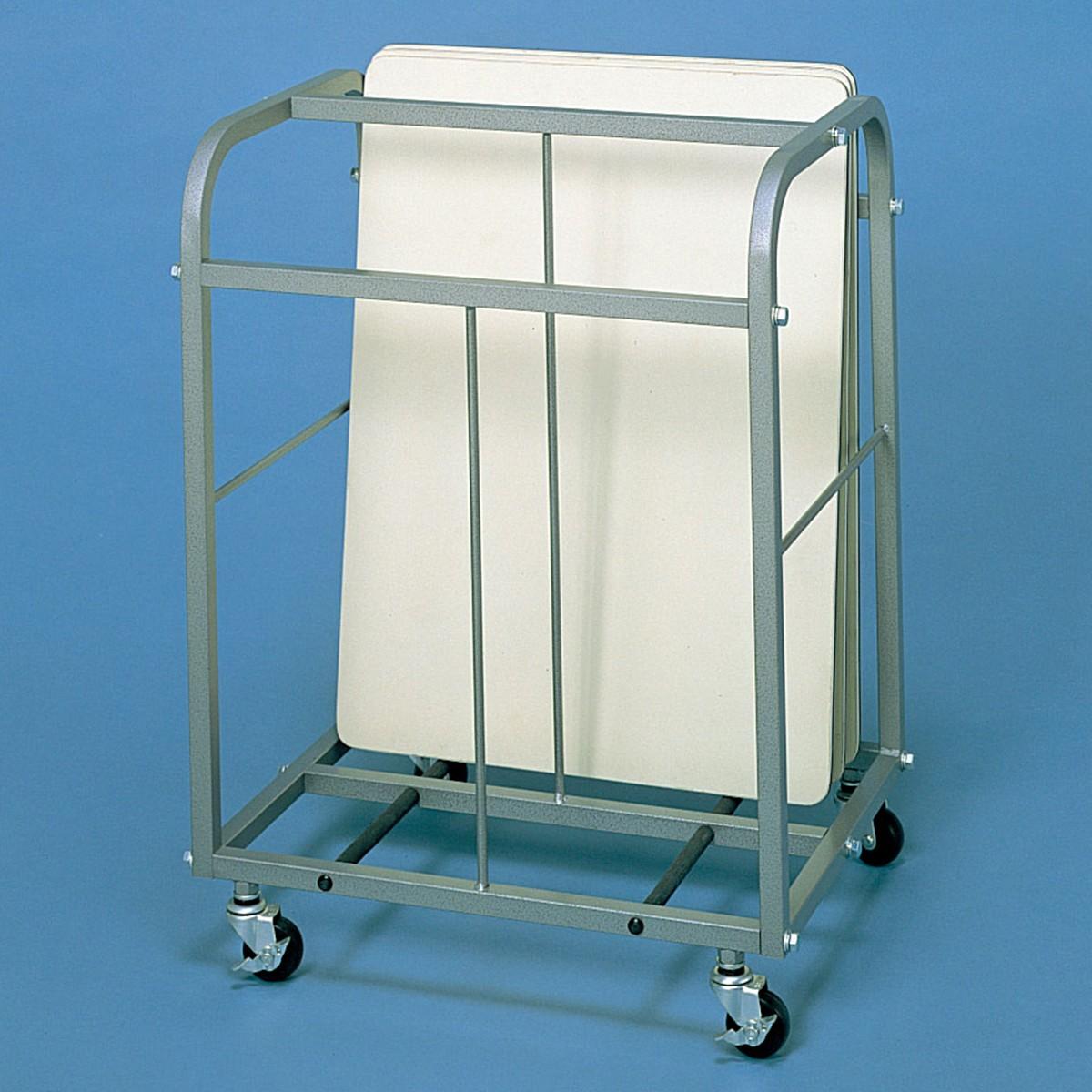 画板整理箱 GH型 スチール製・組立式 【 整理 箱 画板 キャスター 】