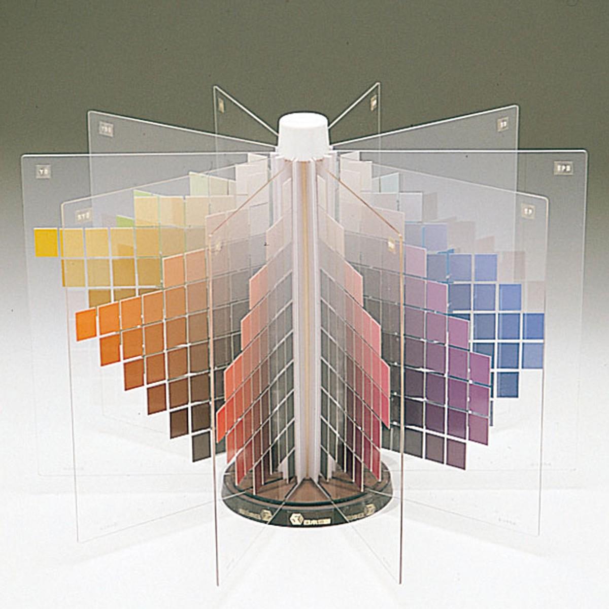 色立体模型 10色相 【 色彩 配色 色 立体 模型 】