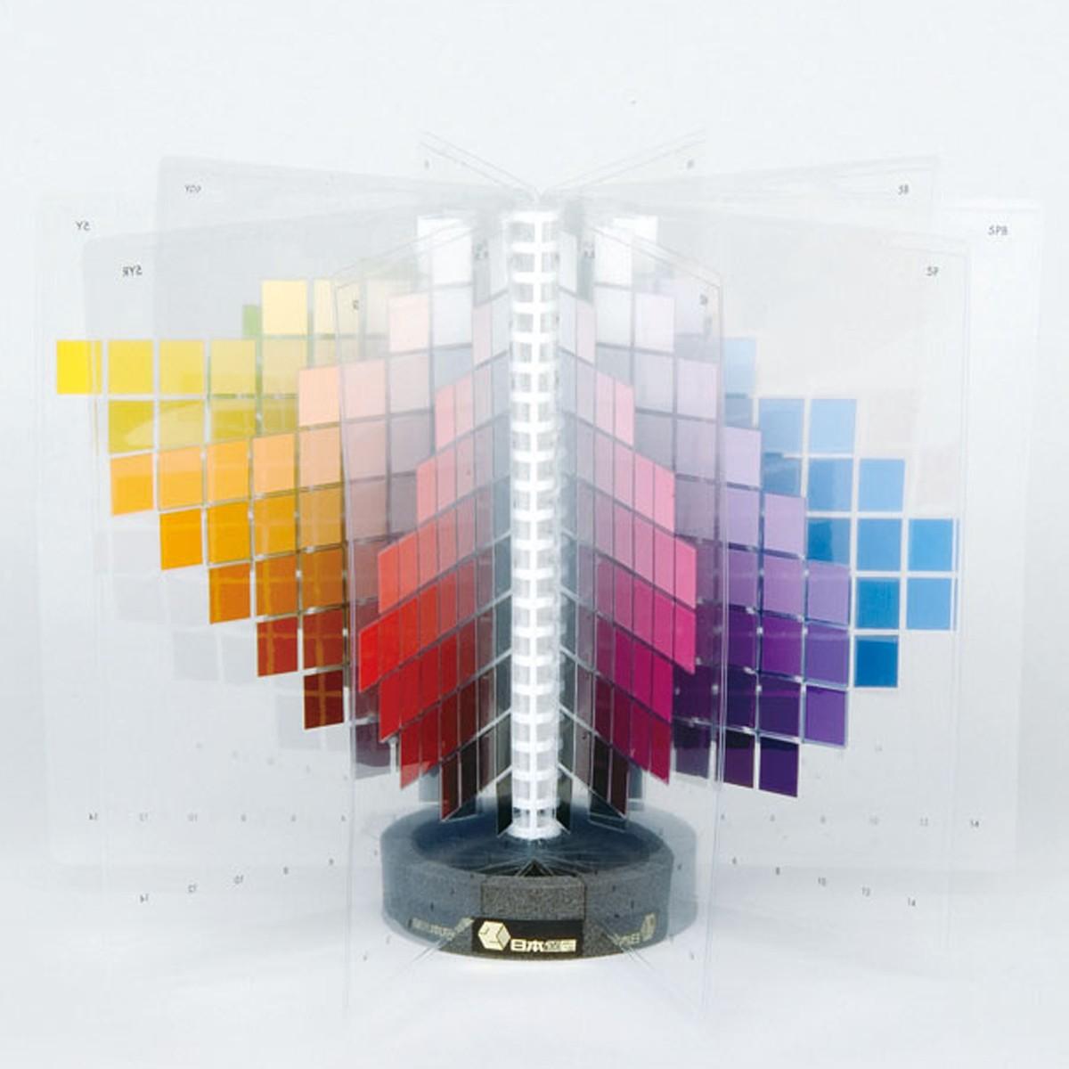 ライト色立体模型 10色相 【 色彩 配色 色 立体 模型 】