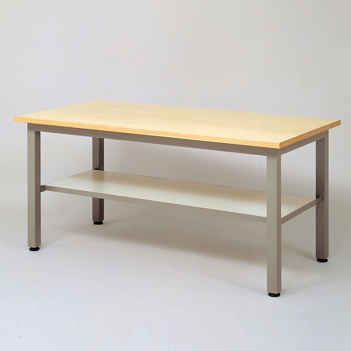 <お取り寄せ品※代引きキャンセル不可> 工作台 EK-1875型 【 工作台 机 木製 図工室 美術室 】