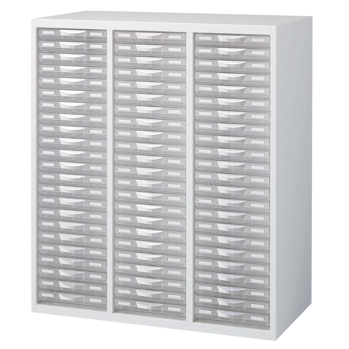 <お取り寄せ品※代引きキャンセル不可> プラスチック キャビネット RW5-N10C69 【 用紙 工具 整理 棚 収納 多目的 システム収納棚 】