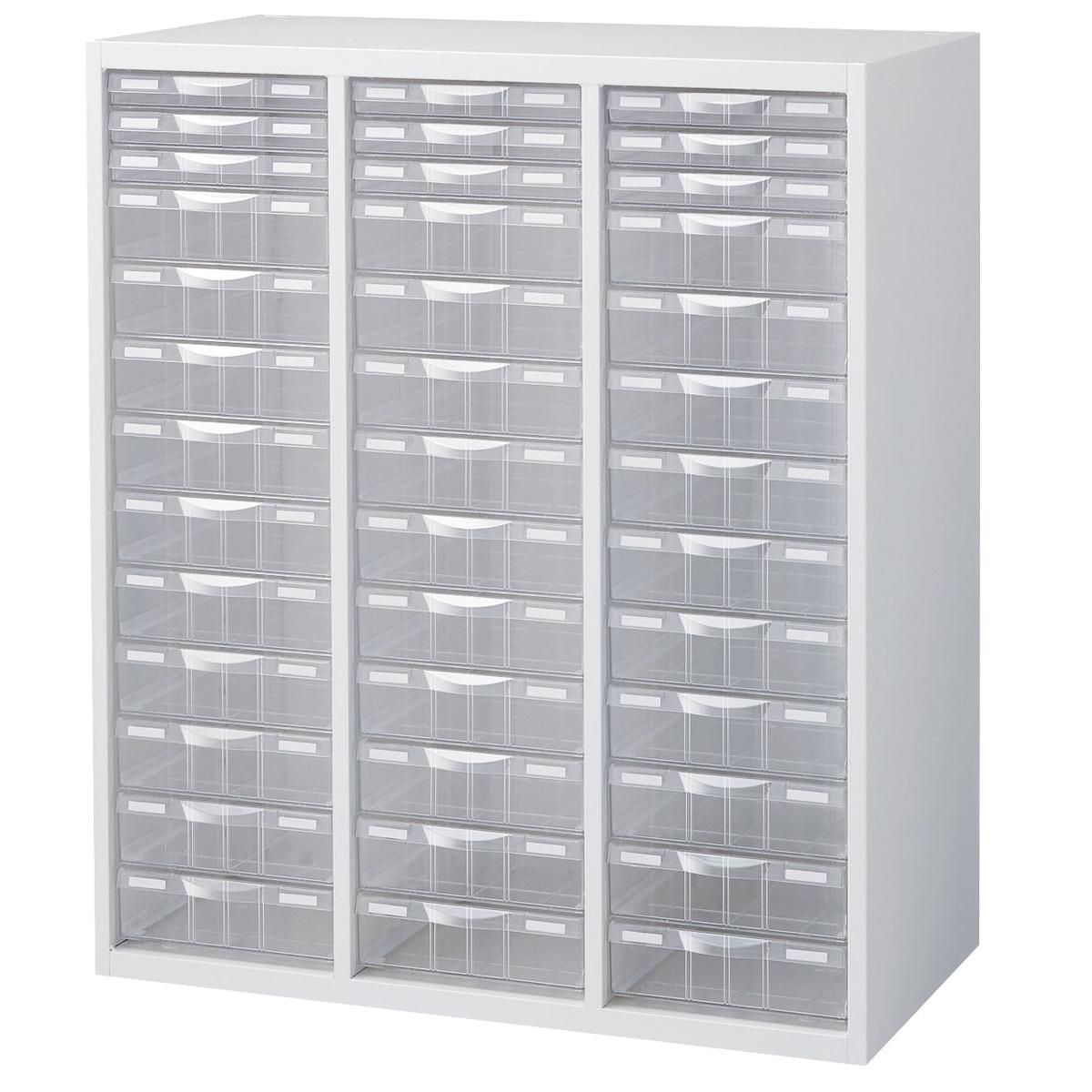 <お取り寄せ品※代引きキャンセル不可> プラスチック キャビネット RW5-N10C39 【 用紙 工具 整理 棚 収納 多目的 システム収納棚 】
