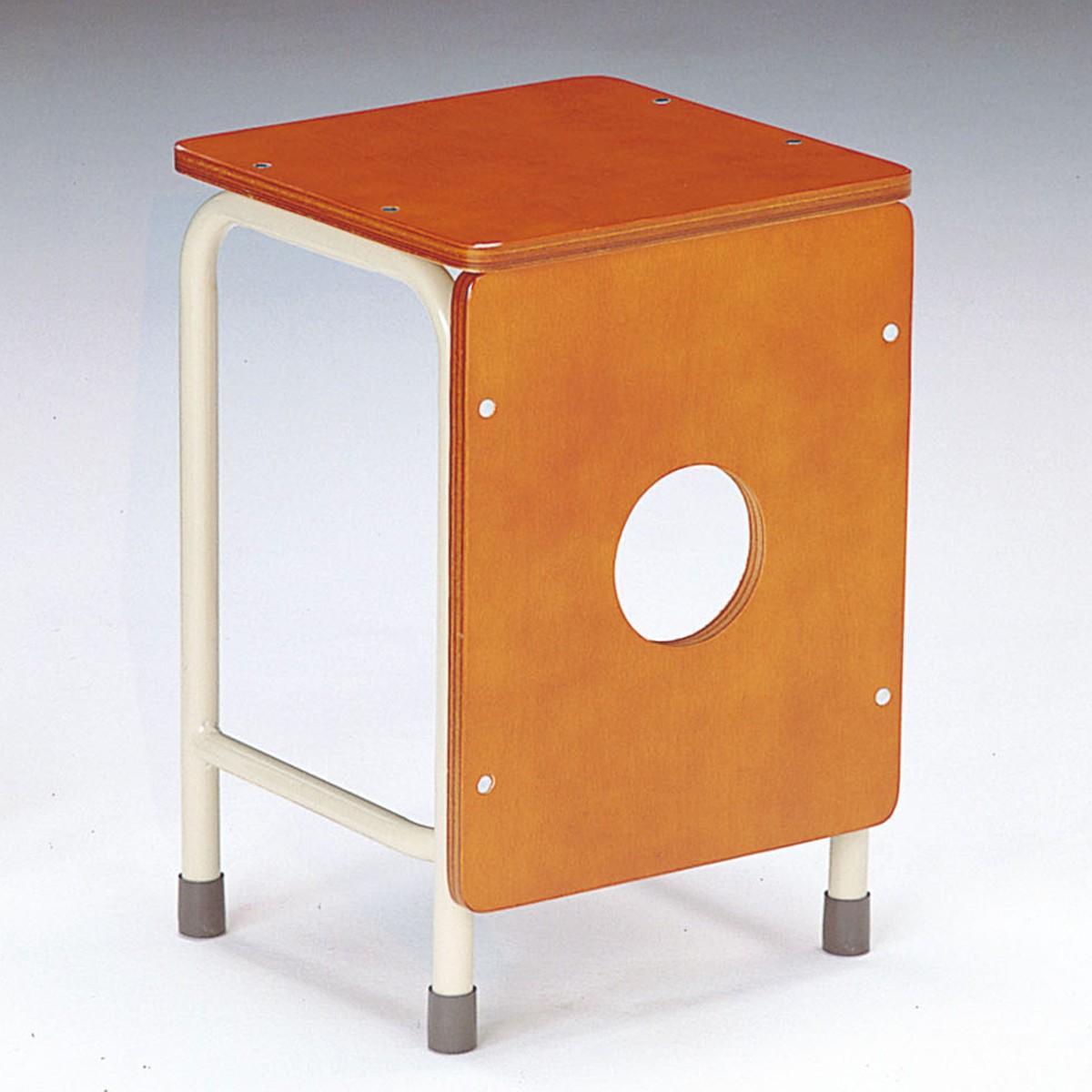 工作椅子 S-801 【 学校 美術 図工室 椅子 】